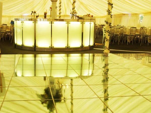 Mirrored Dance Floor – Premier AVL
